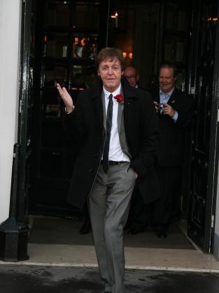 Pic of Paul McCartney