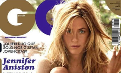 Jennifer Aniston GQ Spain Cover: Recycled From '08!