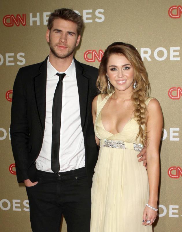 Miley Cyrus And Liam Hemsworth Pregnant Miley Cyrus: PR...