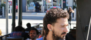 Shia LaBeouf Rocks New 'Do: The Braided Rattail!?!