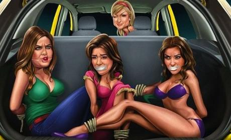 Ford Pulls India Ad Featuring Paris Hilton, Bound and Gagged Kardashians