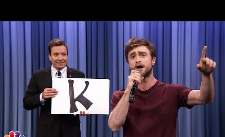 Daniel Radcliffe Raps on The Tonight Show: Watch AMAZING Video Now!