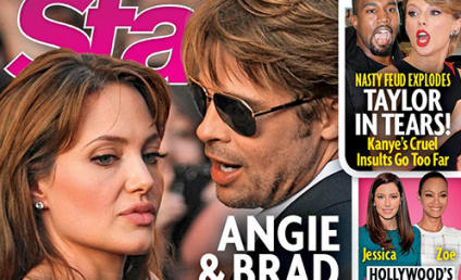 Brad Pitt: Cheating on Angelina Jolie With Selena Gomez! (According to Ridiculous Tabloid)