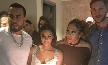 Kim Kardashian Poses with Calvin Harris, Tries to End Taylor Swift Forever