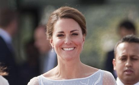 Kate Middleton Smiling Photo