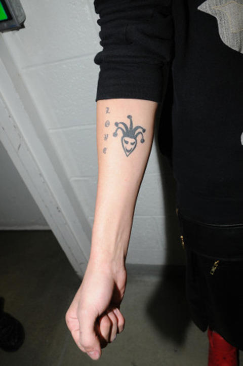 The Arm of Justin Bieber