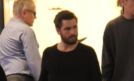 Scott Disick Shopped at Barneys New York