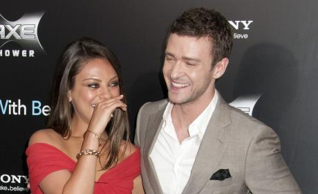 Justin Timberlake, Mila Kunis Deny Hacked Photo Rumors in Classic Statement
