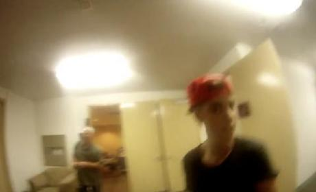 Justin Bieber Property Thief Releases Footage, Warns Singer: More to Come!