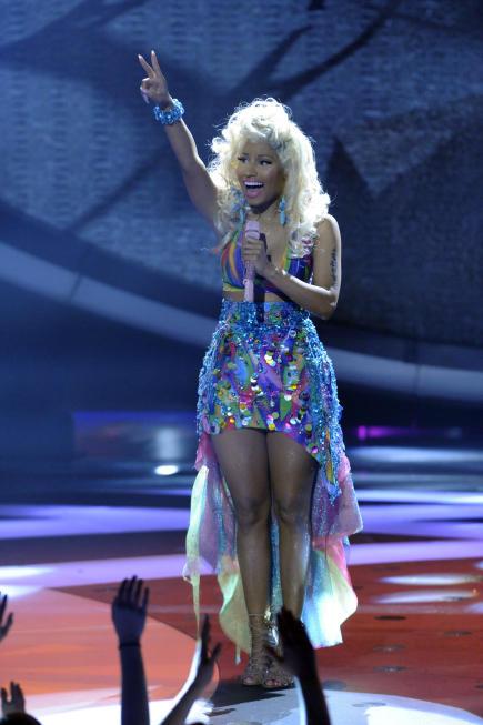 Nicki Minaj on American Idol