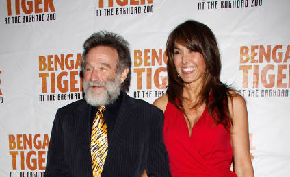Robin Williams and Susan Schneider: Married!