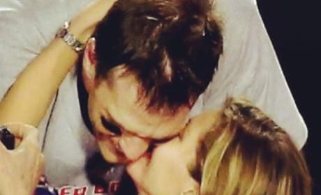 Gisele Bundchen, Tom Brady Super Bowl Celebration