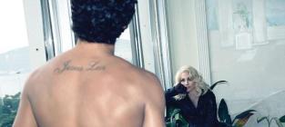 Madonna and Jesus Luz Heat Up W Magazine