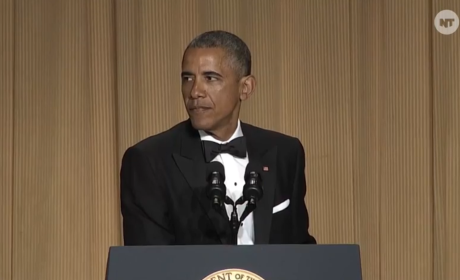 Obama at the 2015 White House Correspondents Dinner