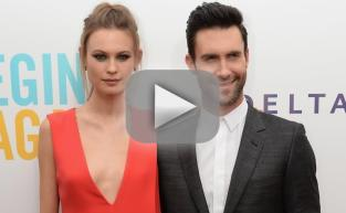 Adam Levine and Behati Prinsloo: Married By Jonah Hill!