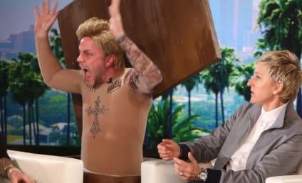 Justin Bieber: Pranked by Male Model on Ellen!