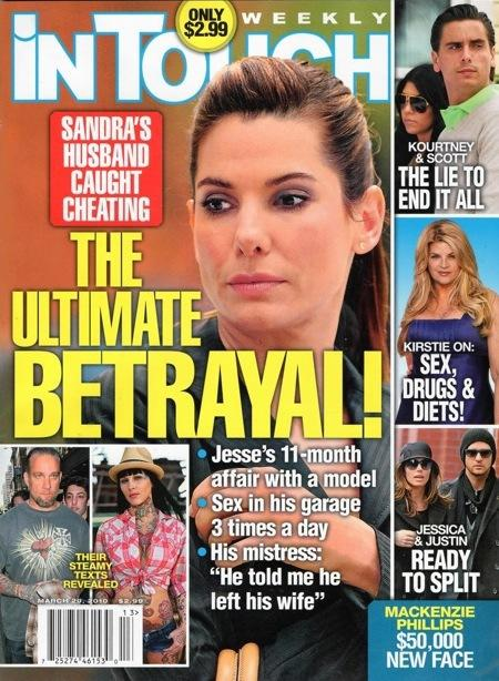 Sandra Bullock: Betrayed!