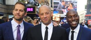 Vin Diesel, Paul Walker and Tyrese