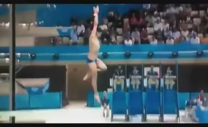 Worst Dive Ever: Stephan Feck Flops at Olympics