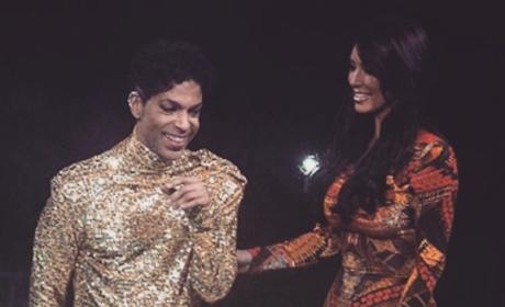 Prince and Kim Kardashian