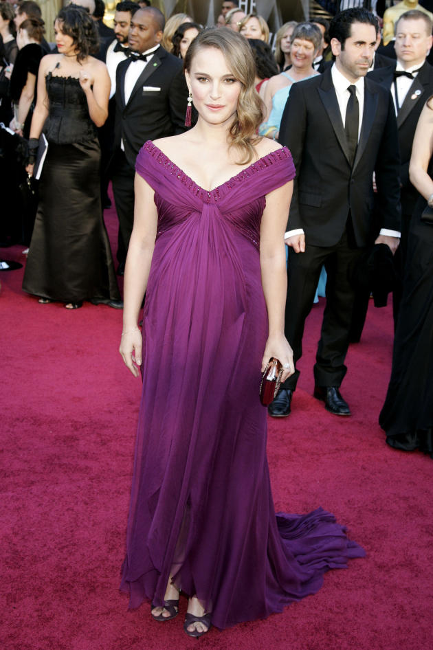 Natalie Portman at the Oscars