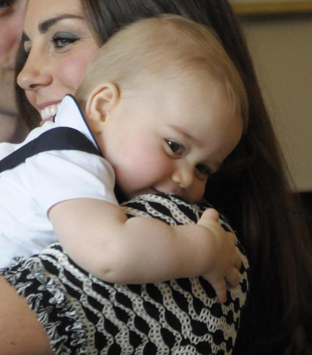 Royal Baby Hug