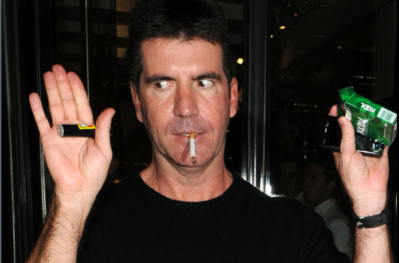 Simon Cowell Smoking