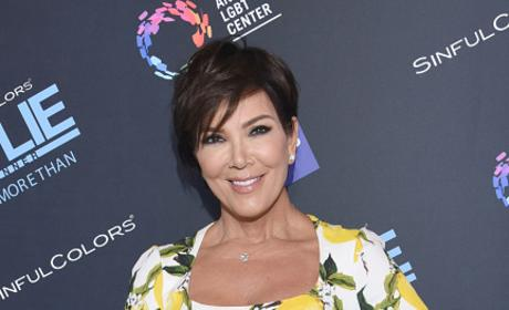 Kris Jenner Attends SinfulColors and Kylie Jenner Announce charitybuzz.com Auction for Anti Bullying