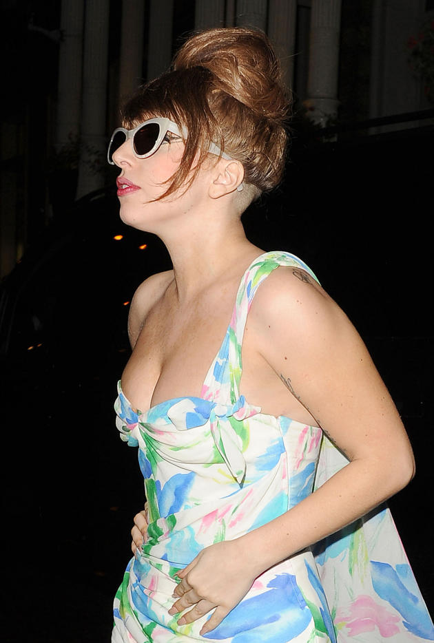 Lady Gaga in Action