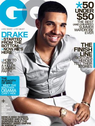 Drake GQ Cover