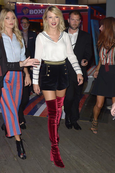 Taylor Swift with Boots