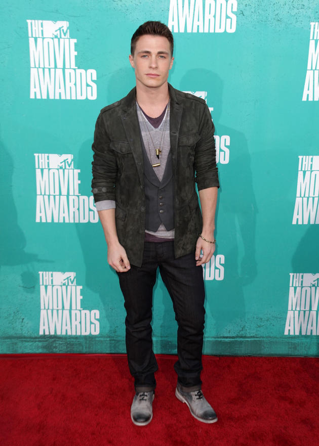 Colton Haynes at MTV Movie Awards