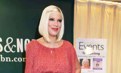 Tori Spelling Sex Tape: It's Out There, Actress Claims in Memoir!