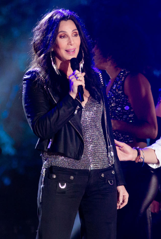 Cher on Stage