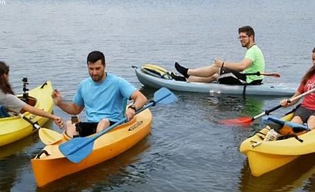 Jinger and Jeremy: Kayaking!