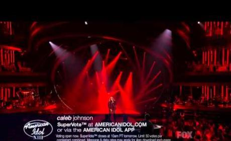 "Caleb Johnson - ""Skyfall"""