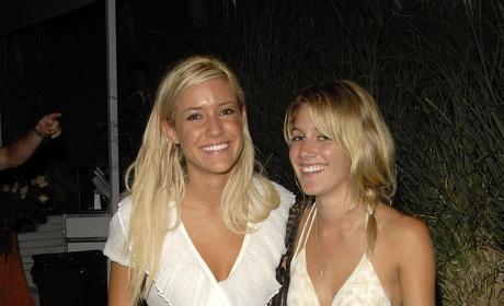 Kristin Cavallari and Heidi Montag