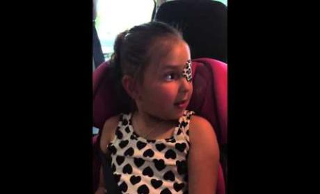 Kristen Bell Surprises Little Girl with Brain Tumor: Watch!