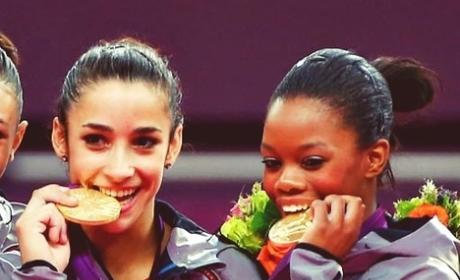 Aly Raisman and Gabby Douglas on Balance Beam: Did They Win Medals?
