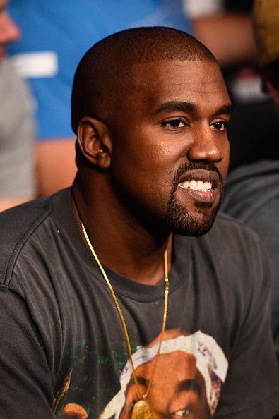 Kanye West Attends UFC 202