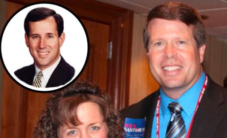 Duggar Family, Santorum