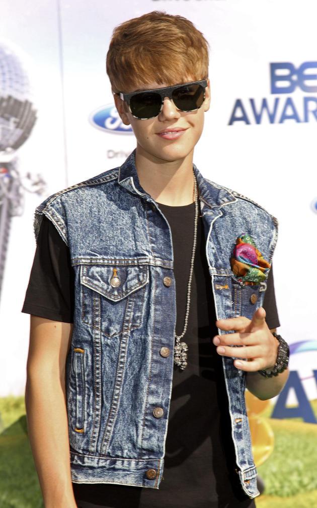 Justin Bieber at the BET Awards