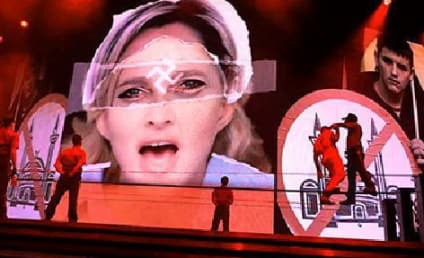 Madonna Swastika Use: Run Back in Paris, Likely to Result in Lawsuit