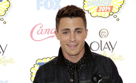 Colton Haynes at the 2014 Teen Choice Awards
