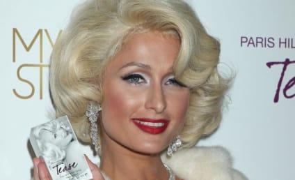 Paris Hilton Launches Fragrance, Makes Like Marilyn Monroe