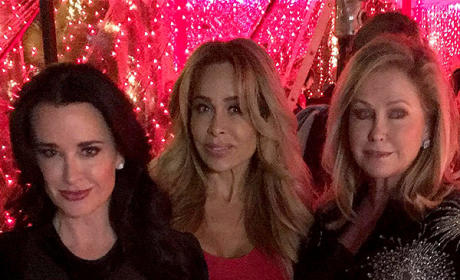 Kyle Richards, Faye Resnick and Kathy Hilton