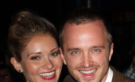 Aaron Paul and Lauren Parsekian: Engaged!