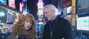 Kathy Griffin Simulates Oral Sex on Anderson Cooper [Video]