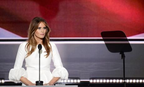 Melania Trump Speech Pic