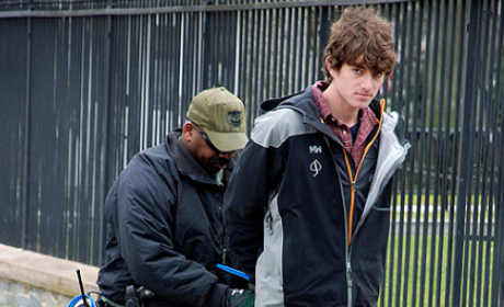 Conor Kennedy Arrested for Climate Change Protest